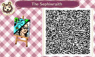 The Sephiwraith Logo (Animal Crossing: NL QR Code) by sephiroth1204