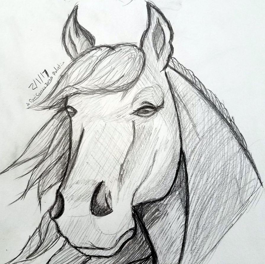 Lucah Horse by sephiroth1204