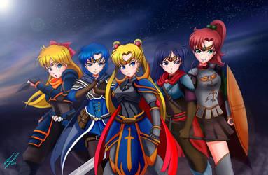 Squad up - Moonlight Inquisition by ProjektKitsune