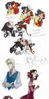 Random Sketches V