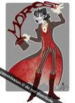 Commish: NevermoreGingitsune by Desdemonia