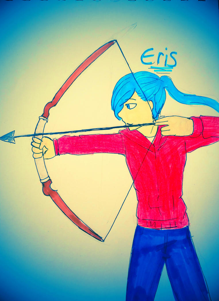 Eris (request ) by KohakuFox