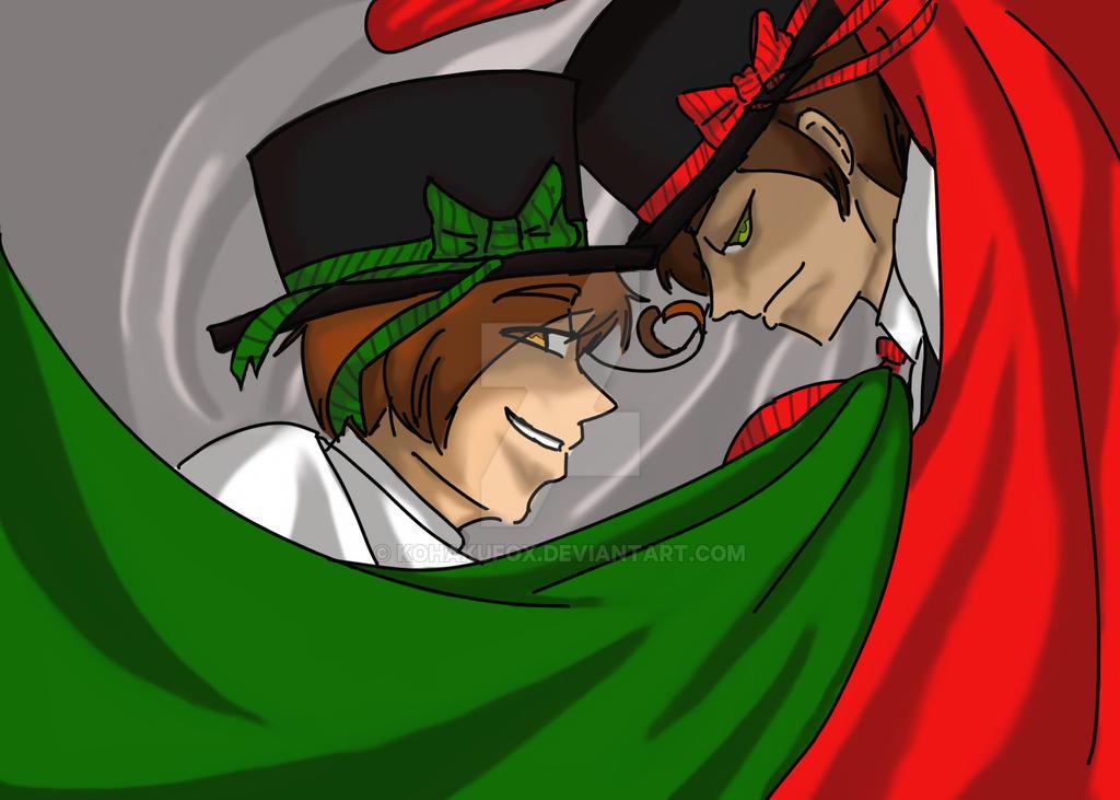 APH Alluring italians by KohakuFox