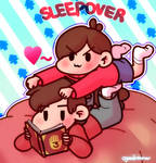Dipper and Mabel Sleepover