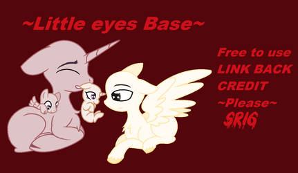 Little eyes Base by SuperRosey16