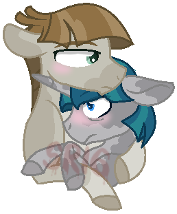 Toll boi and smol boi by SuperRosey16