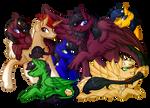 .:Commission:. Latea's Family