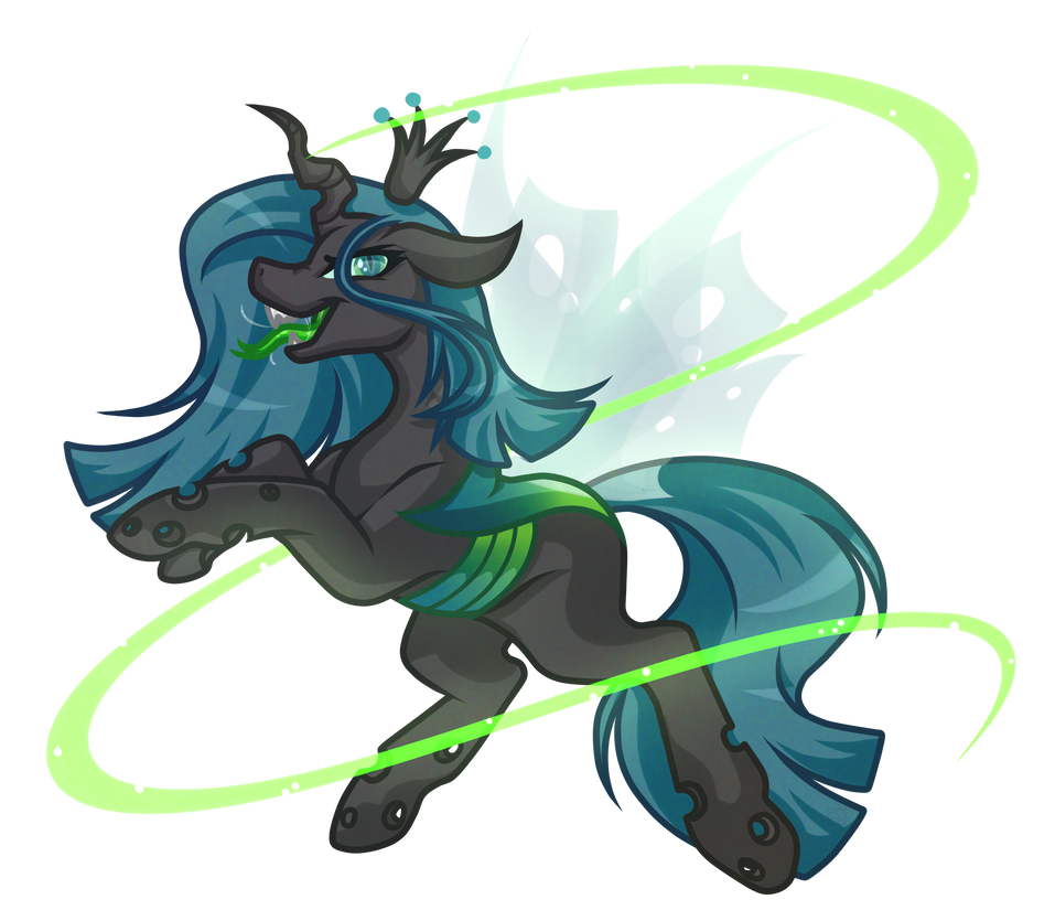 .:Contest Entry:. Queen Chrysalis by Amazing-ArtSong