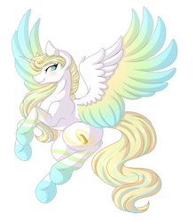 .:Request:. Rainbow Power Halo by Amazing-ArtSong