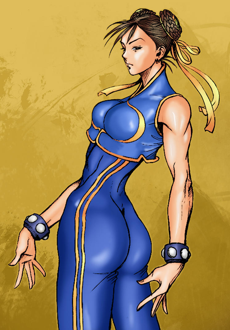 Chun li (pencils artgerm - color me) by aeanchile