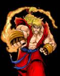 Ken Masters - Street fighter Alpha.