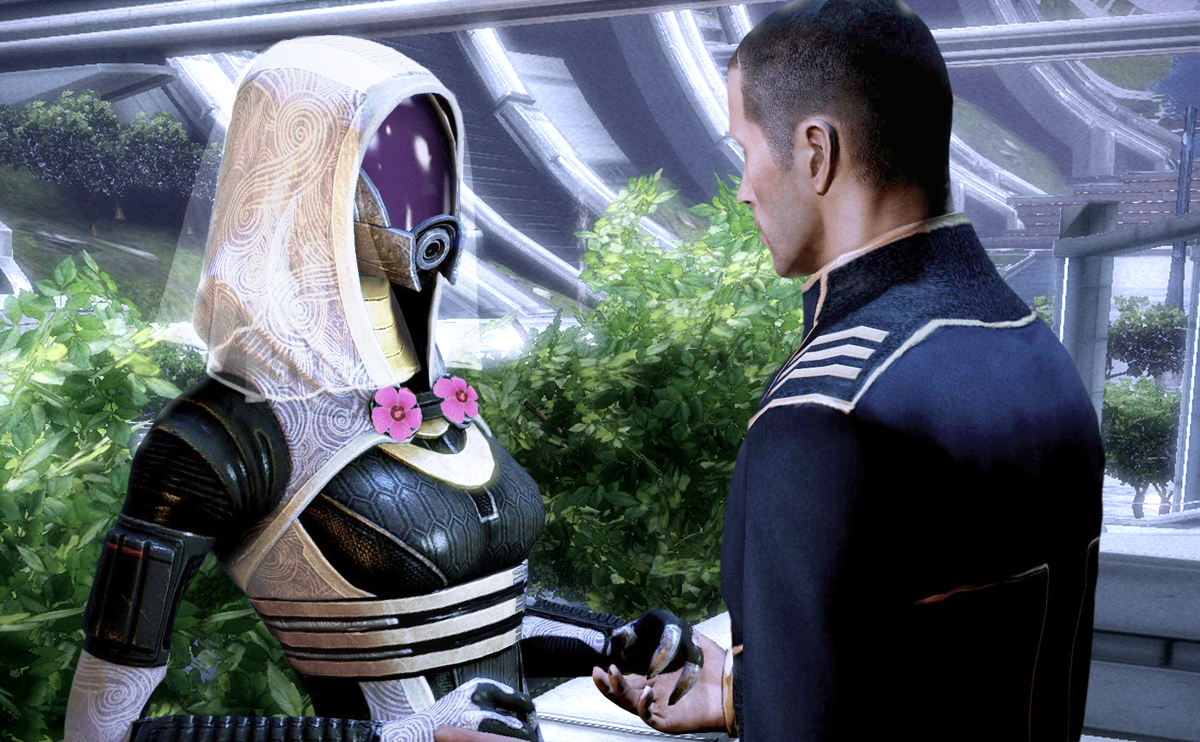 tali and shepard wedding by lolsergio on deviantart