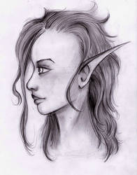 Elf by Krystalisiana