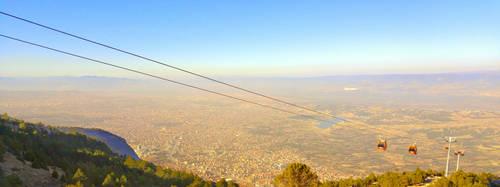 Denizli bird's-eye view by AlfAu