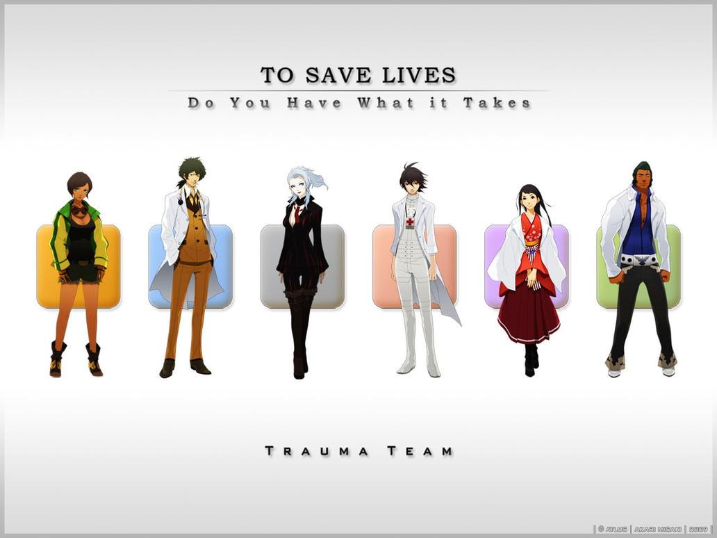 Trauma Team Wallpaper by AkariMisaki
