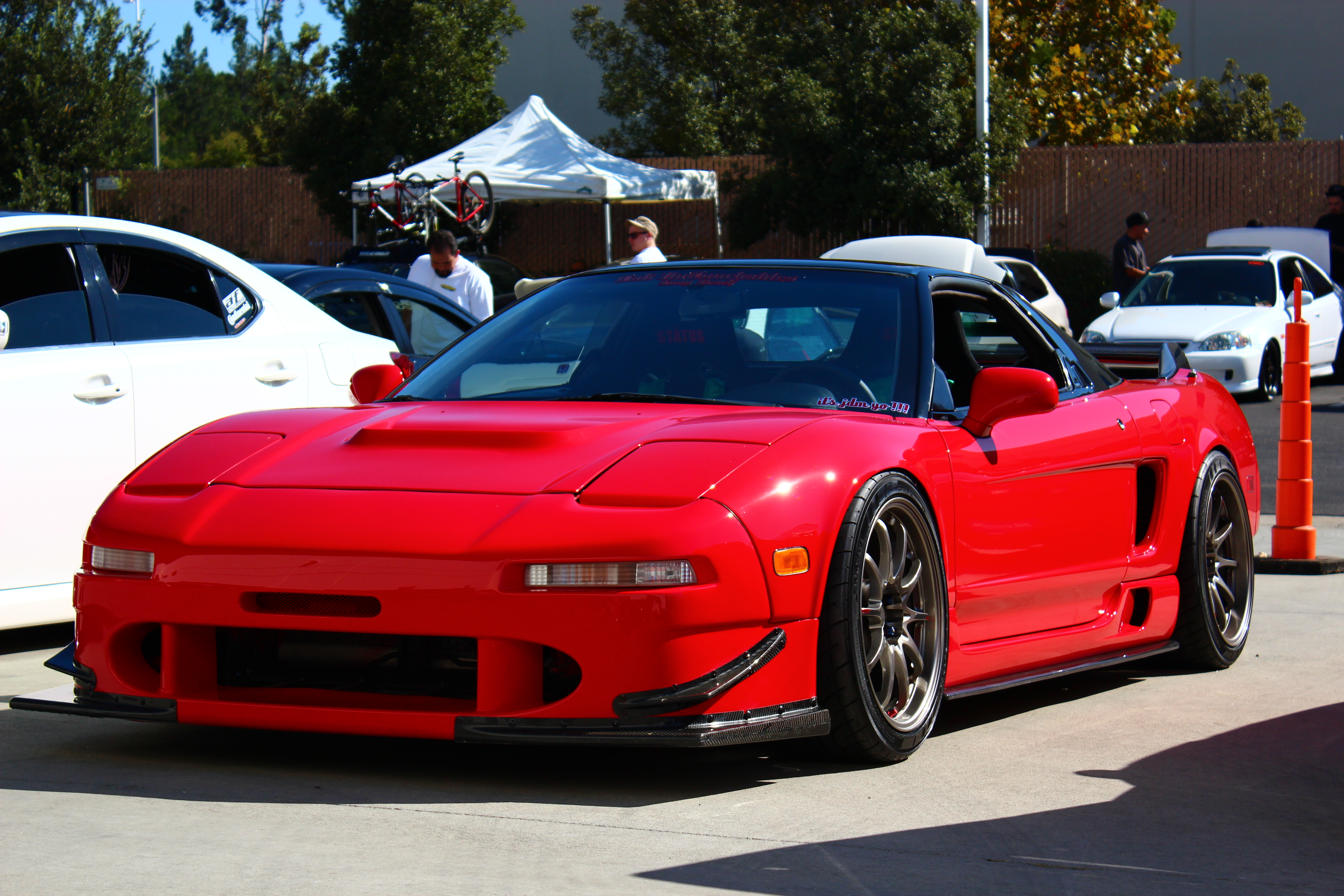 Stanced acura nsx viewing gallery