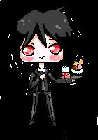 Sebastian pixel by Nichiya-chan