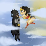 Batman and Wonder Woman -- Just Kiss Me