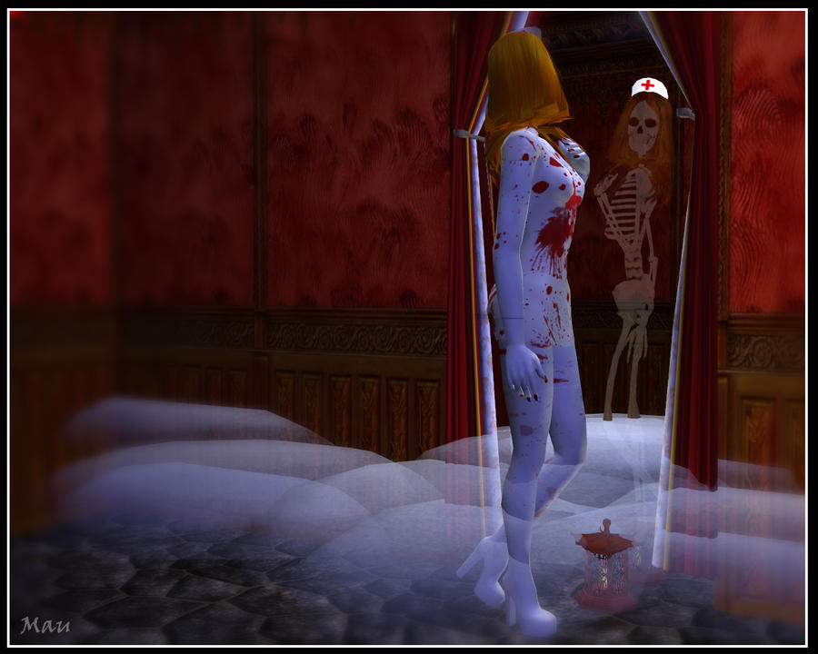 horror wallpaper. Sims 2 Horror wallpaper - 3 by