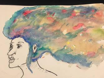Watercolour practice  by CKballoon