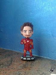 Tony Stark by r0ra