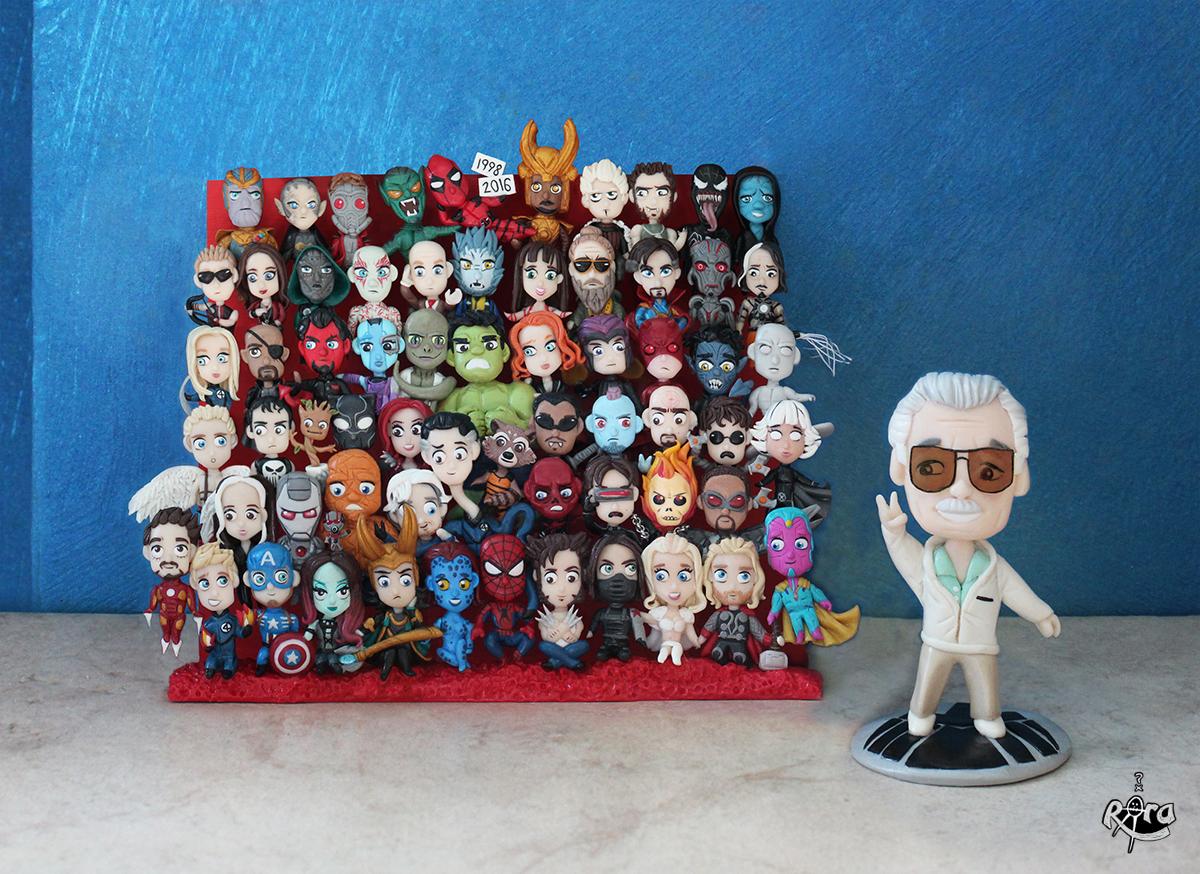 Marvel Family by r0ra