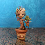 Baby Groot / HP by r0ra