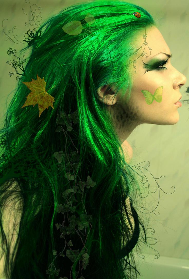 nature girl by lotuskoi on deviantart