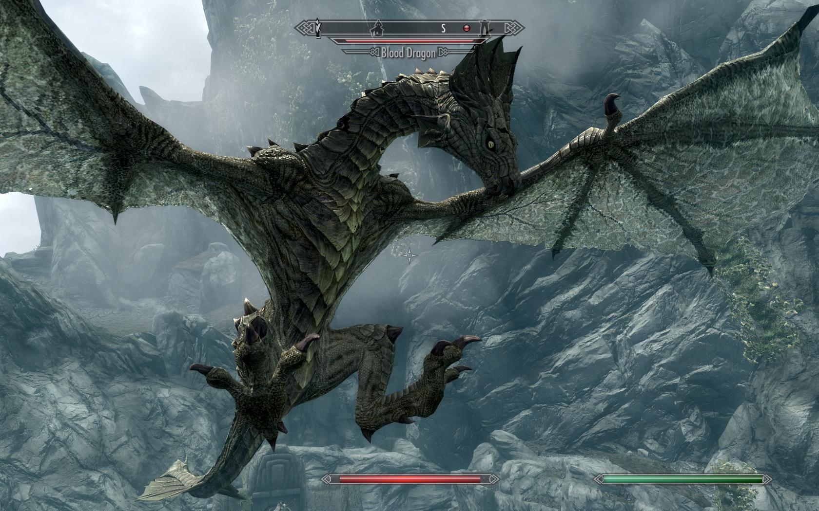 Skyrim Dragon: Skyrim-dragon02 By GiuseppeDiRosso On DeviantArt