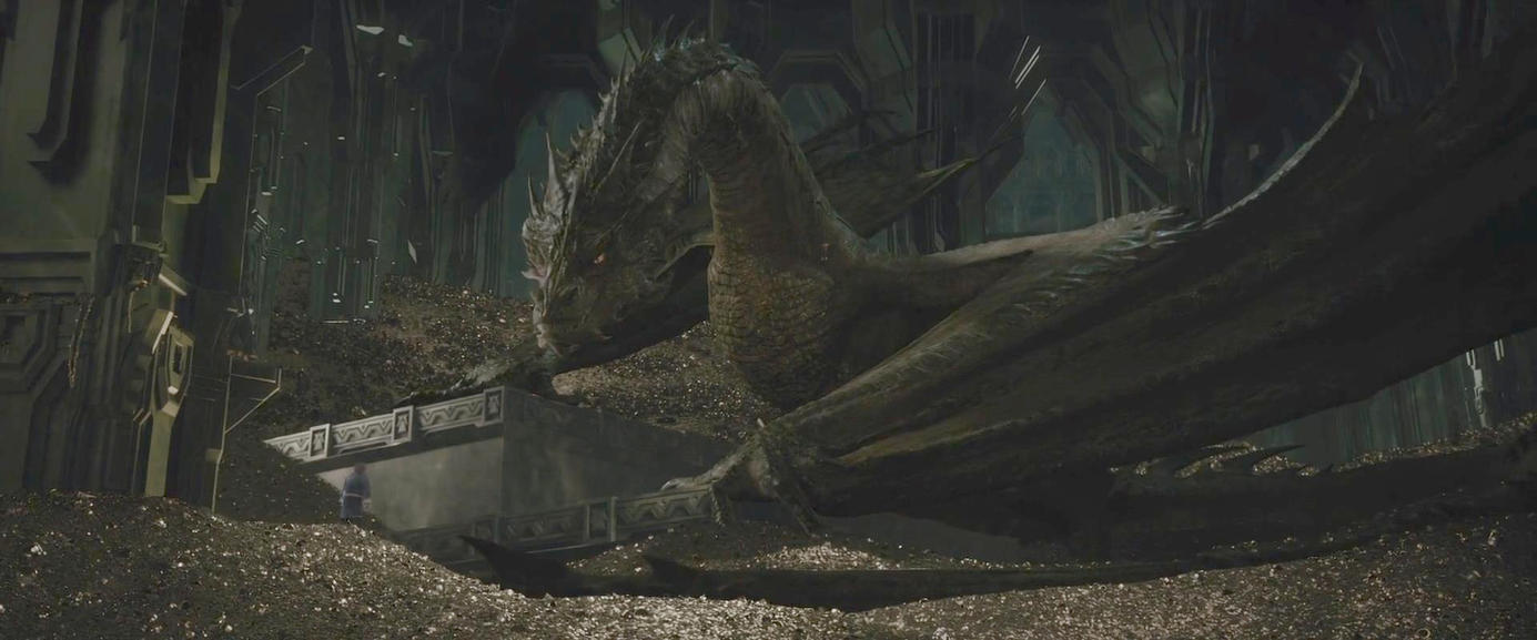 The Hobbit-Smaug 02 by Jd1680a