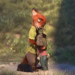 Zootopia-NickWilde and Judy Hopps 3
