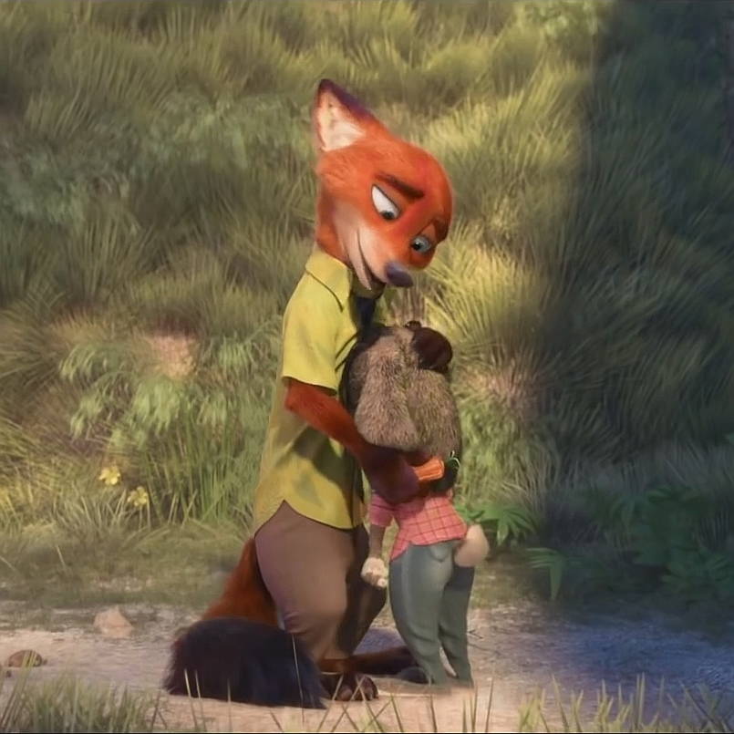 Ausmalbild Nick Und Judy Hopps Aus Zootopia: Zootopia-NickWilde And Judy Hopps 3 By GiuseppeDiRosso On
