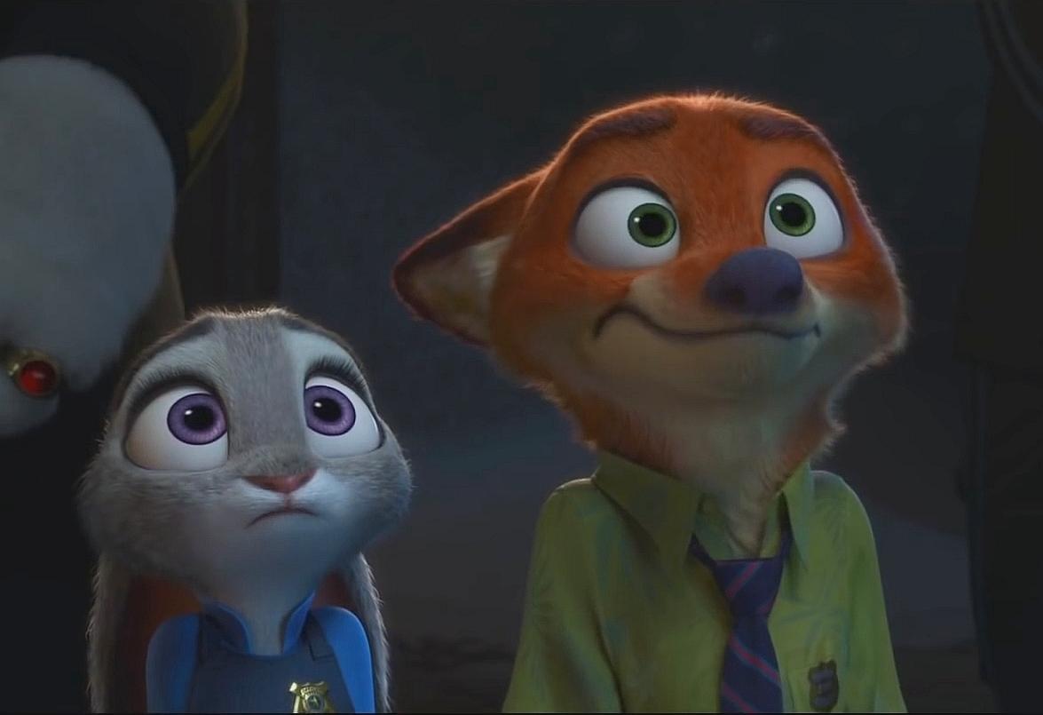 Ausmalbild Nick Und Judy Hopps Aus Zootopia: Zootopia-NickWilde And Judy Hopps 4 By GiuseppeDiRosso On