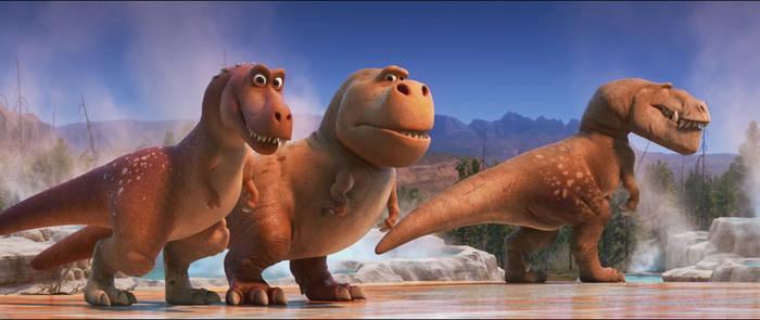 The Good Dinosaur-Tyrannosaurus 1