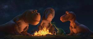 The Good Dinosaur-Tyrannosaurs 2