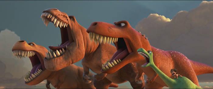 The Good Dinosaur-Tyrannosaurs 3