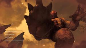 Doom2016-Hell Knight Feet 1