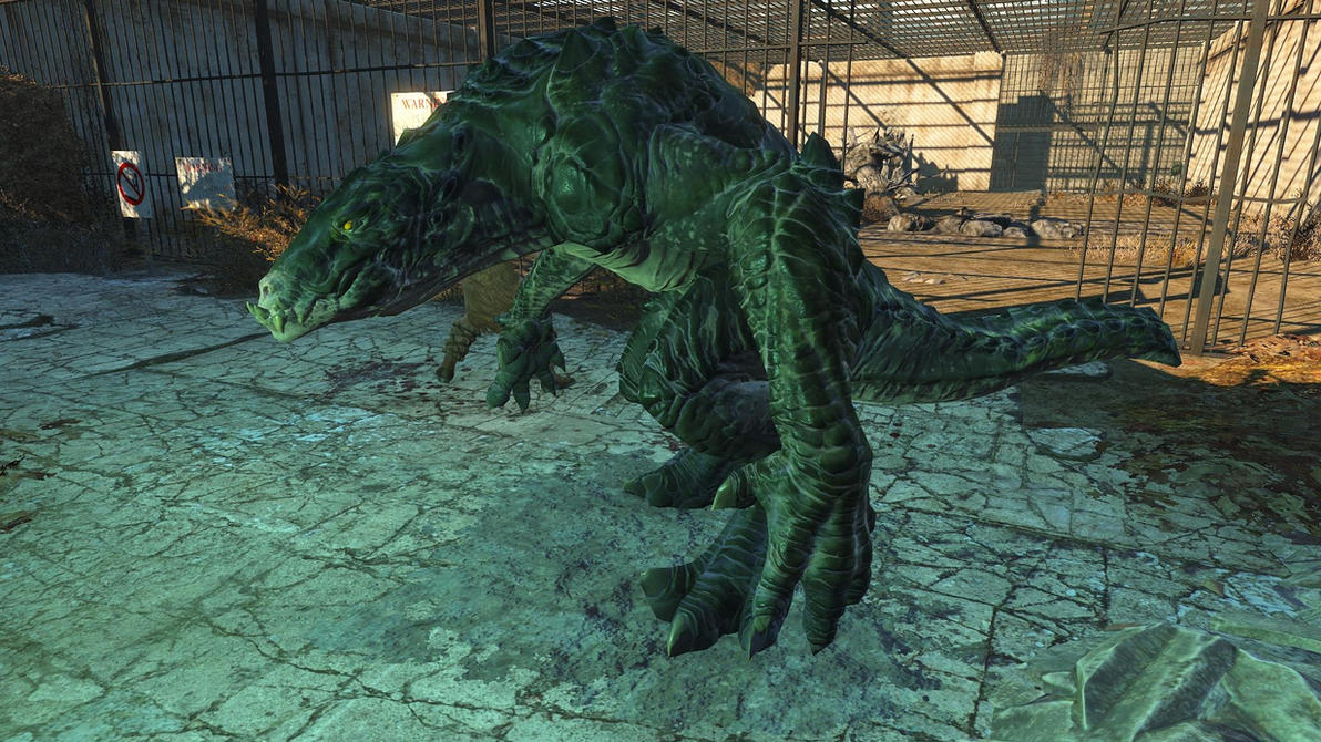 Fallout4-Gatorclaw 1 by GiuseppeDiRosso
