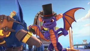 SkylandersAcademy Season 1-Spyro 6 by GiuseppeDiRosso