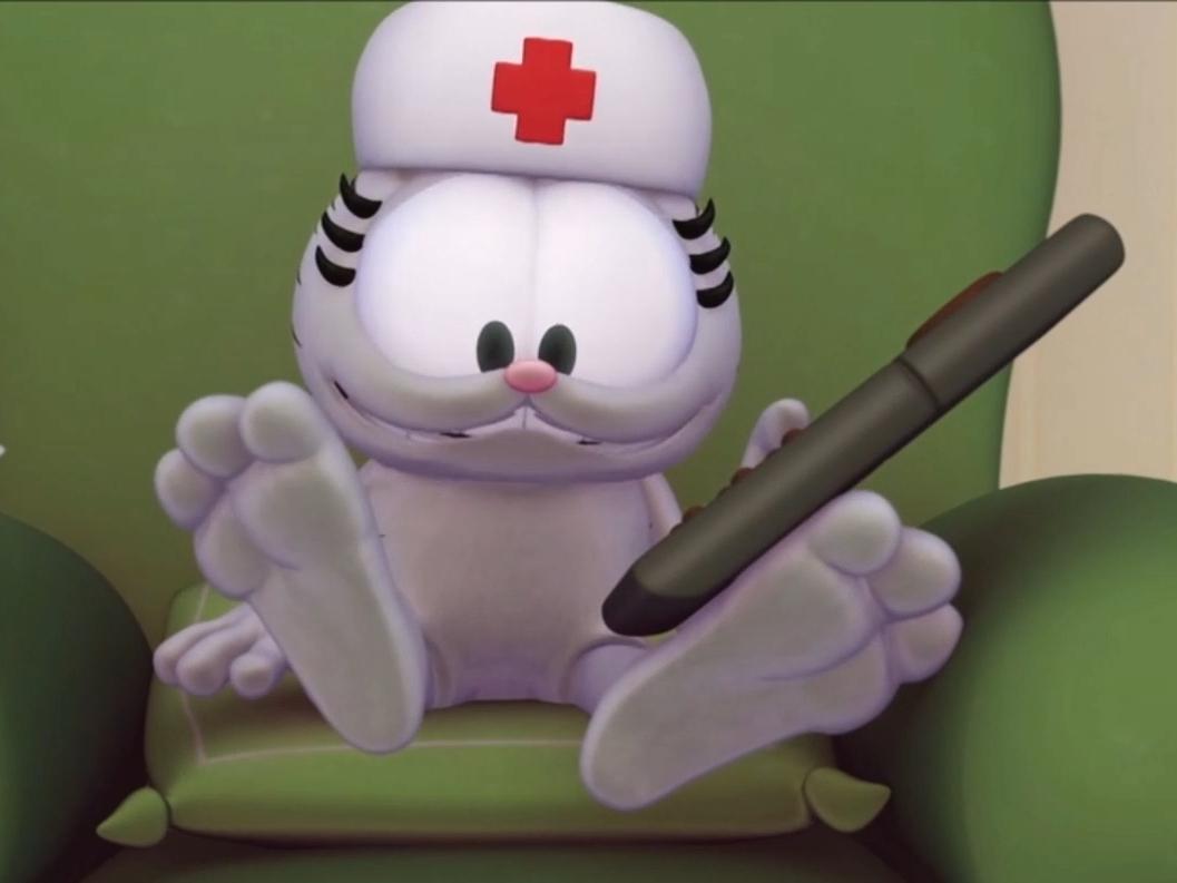 Garfield Show S1 E6 Nermal Feet By Giuseppedirosso On Deviantart