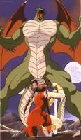 Devil Hunter Yohko-Dragon 1 by GiuseppeDiRosso