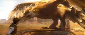 Fantastic Beasts-Frank the Thunderbird