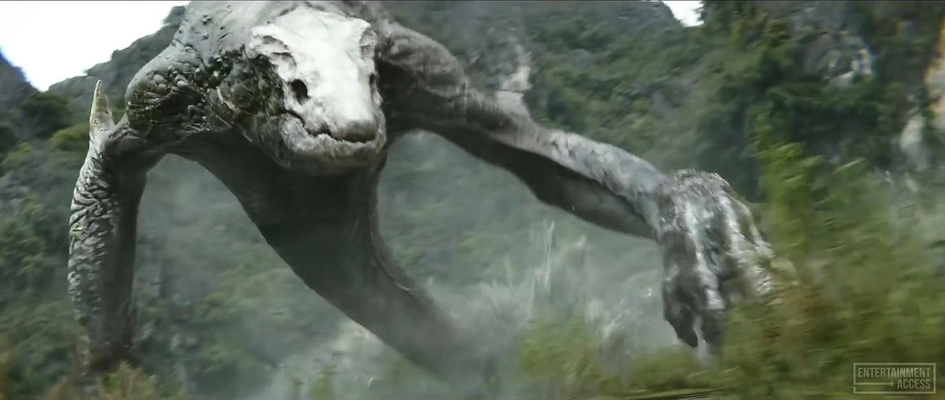 Kong Skull Island Lizard Monster