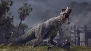 Jurassic World Evolution-Tyrannosaurus Rex