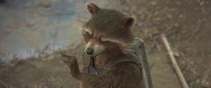 Guardians of the Galaxy Vol 2-Rocket Raccoon 19 by GiuseppeDiRosso