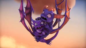 Skylanders Academy Season 3-Cynder Spyro