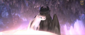 Train Your Dragon 3-Light Fury Toothless 1