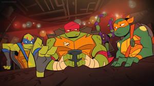 S1 E15 Mind Meld-Ninja Turtles