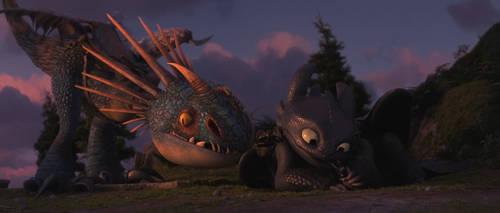 Train Your Dragon 3-Toothless 6 by GiuseppeDiRosso