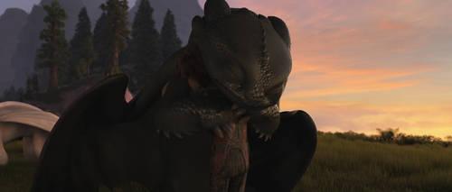 Train Your Dragon 3-Toothless 9 by GiuseppeDiRosso